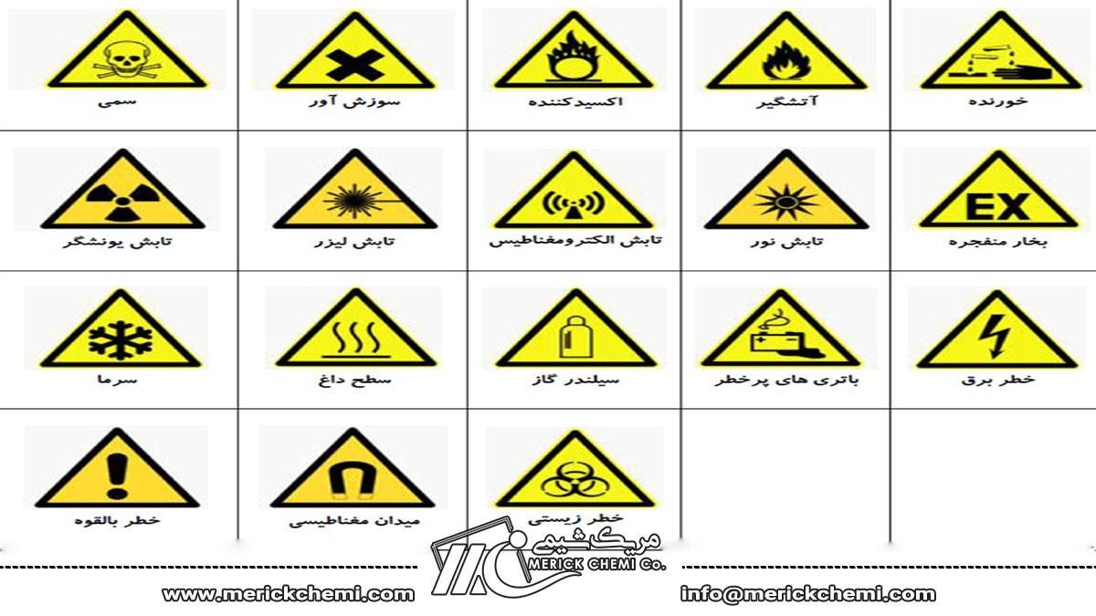 علائم هشداردهنده در آزمایشگاه های شیمی