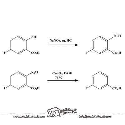 سنتز 2 یدو بنزوئیک اسید